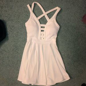 White Windsor Dress Size M